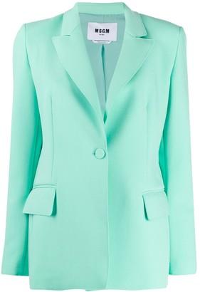 MSGM fitted blazer