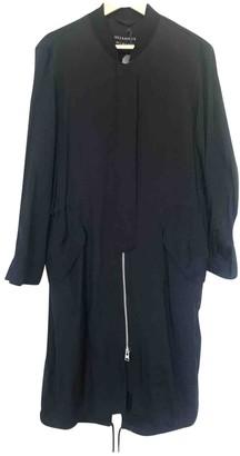 AllSaints Black Coat for Women