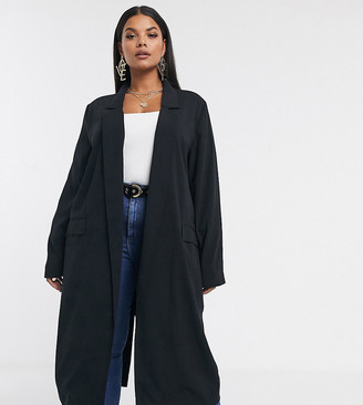 Asos DESIGN Curve soft duster in black