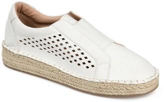 Journee Collection Kandis Espadrille Slip-On Sneaker