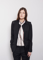 Maison Margiela Line 1 Unfinished Two-Piece Blazer