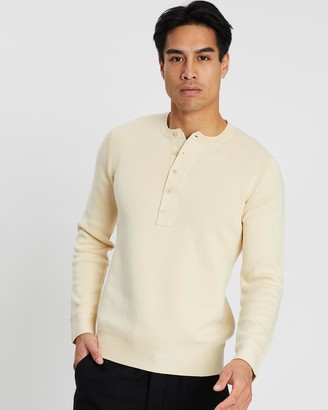 Kent And Curwen Knitted Henley