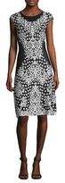Escada Printed Flare Dress