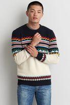 American Eagle Outfitters AE Fair Isle Crew Sweater
