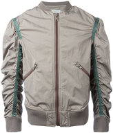 Kolor gathered sleeves bomber jacket - men - Nylon/Polyester - II