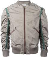 Kolor gathered sleeves bomber jacket