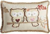 Pier 1 Imports Mr. & Mrs. Owl Lumbar Pillow