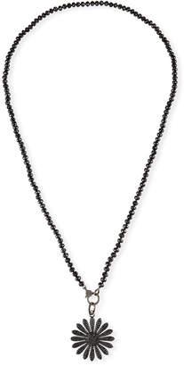Black Diamond Sheryl Lowe Spinel & Daisy Necklace
