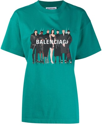 Balenciaga Real T-shirt