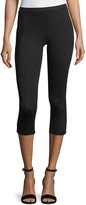Joan Vass Cropped Lightweight Leggings