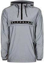 Topman Alphalab Silver Reflective Jacket