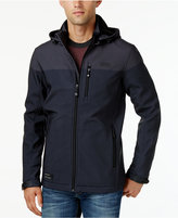 Point Zero Men's Soft-Shell Fleece-Lined Wind and Water Resistant Jacket