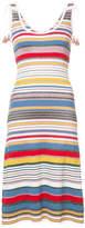 Veronica Beard disco yarn stripe dress