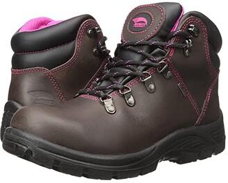 Avenger A7125 Steel Toe (Brown) Women's Work Boots