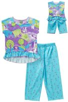 Dollie & Me Girls 4-14 Fairytale Pajama Set