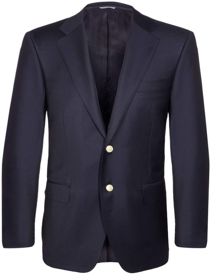 Canali Gold-Button Blazer