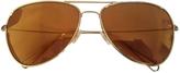 Isabel Marant Gold Metal Sunglasses