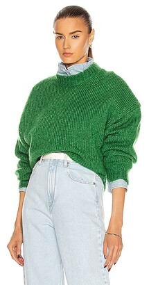 Isabel Marant Elise Sweater in Green