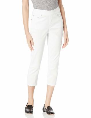 Jag Jeans Women's Petite Maya Skinny Pull On Crop Pant