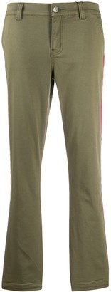Current/Elliott Confidant side stripe slim-fit trousers