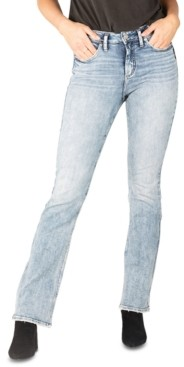 Silver Jeans Co. Avery High-Rise Slim Bootcut Jeans