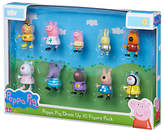 Peppa Pig Dress Up, 10 Figure Pack, Assorted