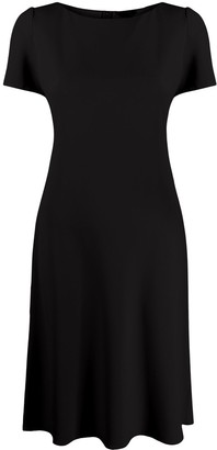 Theory Short-Sleeve Midi Dress