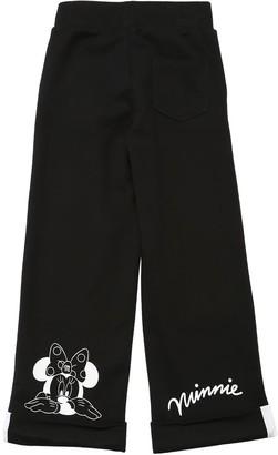 MonnaLisa Minnie Printed Cotton Sweatpants