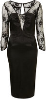 LIMITED EDITION Jaquard Lace Hourglass Dress**