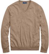 Ralph Lauren Cotton V-neck Sweater