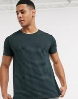 Esprit basic stripe t-shirt in teal