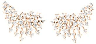 Hueb Luminus 18K Rose Gold & Diamond Stud Earrings