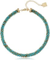 """Anne Klein Gold-Tone Collar Necklace, 15"""" + 4"""" Extender"""
