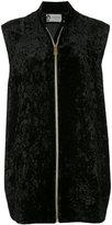 Lanvin front zipped vest