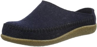 Haflinger Credo Unisex Adults Low-Top Slippers Blau (kapitan 79) 3 UK (36 EU)
