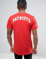 New Era T-shirt With Patriots Back Print