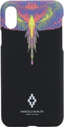 Marcelo Burlon County of Milan Wings Print Tech Iphone Xs Case