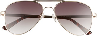 Seafolly Werri 56mm Gradient Aviator Sunglasses