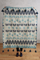 Anthropologie Heritage Throw Blanket