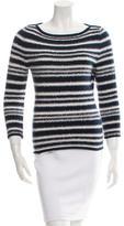 Carolina Herrera Embellished Wool Sweater