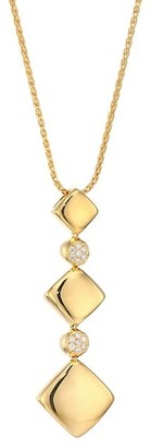 Alberto Milani Via Brera 18K Gold & Diamond Cascading Pendant Necklace