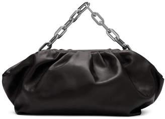 Marques Almeida Black Pleated Clutch Bag