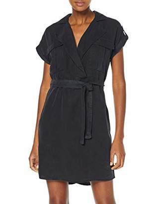 Noisy May NOS DE Women's Nmvera S/s Endi Tencel Shirt Dress Noos Light Blue Denim, 8 (Size: )