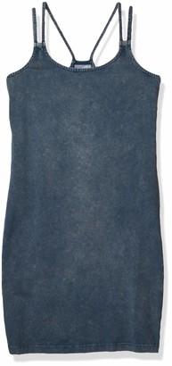 Noisy May Women's Gry Sleeveless Double Tank Strap Dress