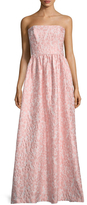 Shoshanna Jacquard Flower Maxi Dress