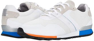HUGO BOSS Parkour Run Sneakers by White) Men's Shoes