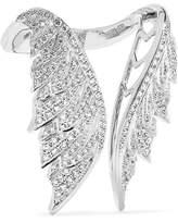Stephen Webster Magnipheasant 18-karat White Gold Diamond Ring - 7