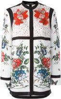 Alexander McQueen floral tablecloth print blouse - women - Silk - 36