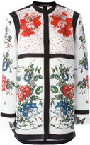 Alexander McQueen floral tablecloth print blouse - women - Silk - 42
