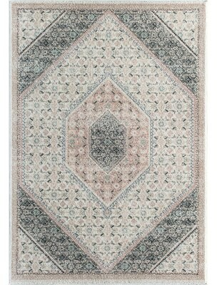 Bungalow Rose Fiedler Oriental Gray Area Rug Rug Size: Rectangle 8' x 10'